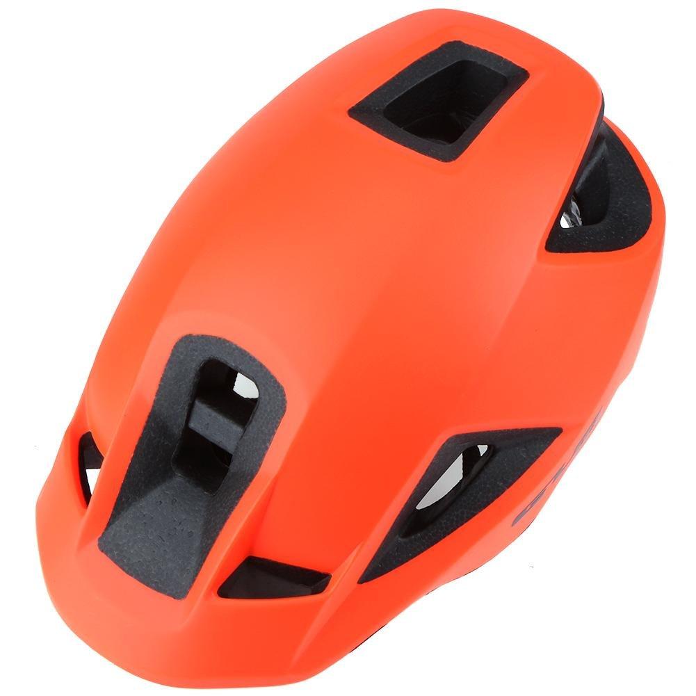 Nelnissa 57–62 cm Outdoor EPS + PC Ultralight integrally-molded Fahrradhelm (Orange)