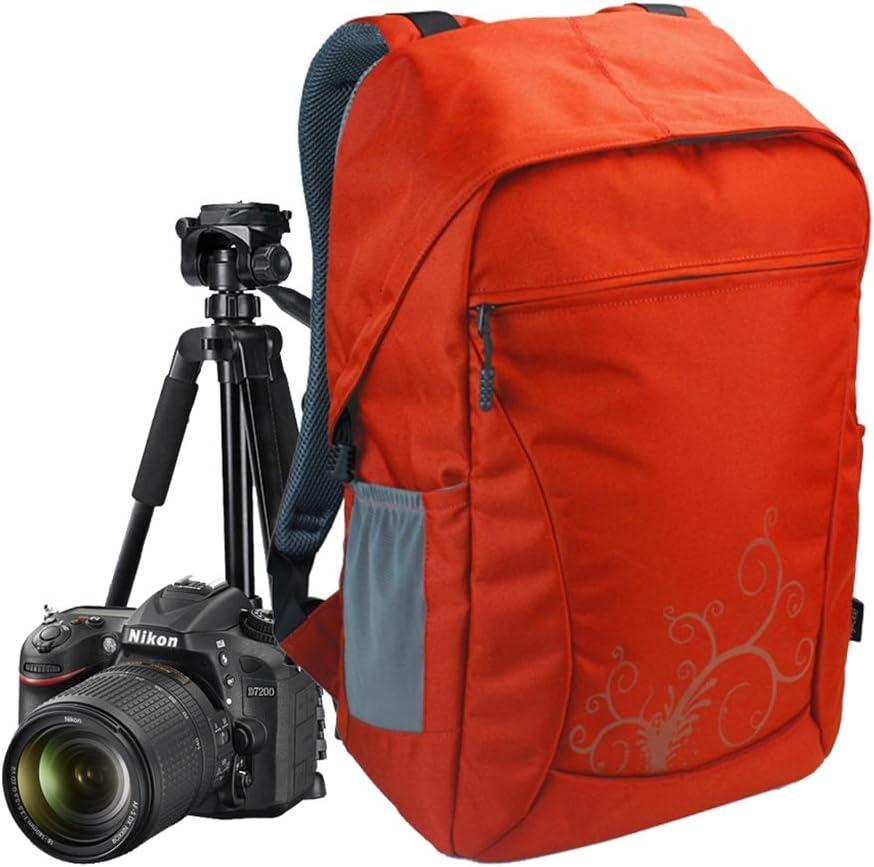 WUZHENG Camera Backpack Outdoor Waterproof Travel Fashion Camera Bag for Men Women