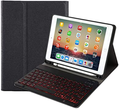 with Universal Micro USB Connection DURAGADGET 7 Black Arabic Keyboard Case Suitable for A Wide Range of 7 Tablets