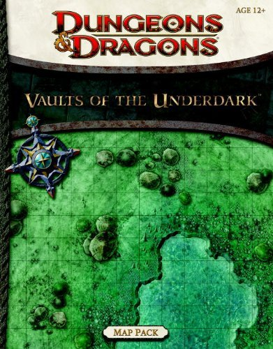 Vaults of the Underdark - Map Pack Dungeons & Dragons Accessories by RPG Team 2012-08-07: Amazon.es: RPG Team: Libros