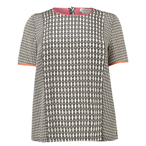 marina-rinaldi-womens-bacio-printed-short-sleeve-blouse-12w-21-grey-black