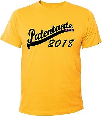 Mister Merchandise Herren Men T-Shirt Patentante 2018 Tee Shirt Bedruckt:  Amazon.de: Bekleidung