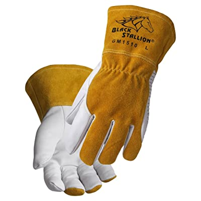 Black Stallion REVCO - GM1510 - MEDIUM Revco BSX Comfortable and High-Dexterity MIG/TIG Welding Glove, Medium