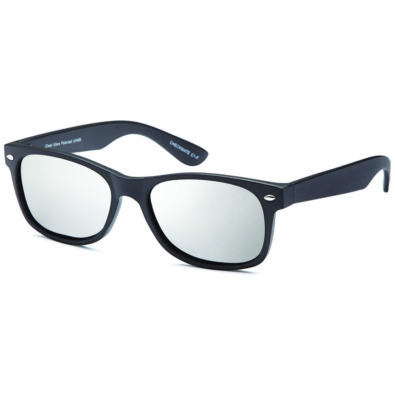 212bd6f0e1 Galleon - Gamma Ray Polarized UV400 Classic Style Sunglasses With Mirror  Lens