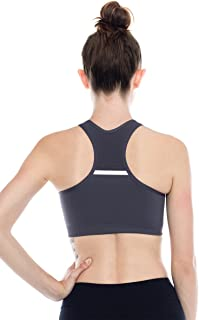 product image for Kurve Double Layered Mesh Top Racerback Sports Bra -Made in USA-