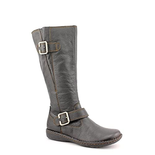f12789bcfb4 B.O.C. Born Concepts Women's Isolde Leather Knee High Boots in Black ...