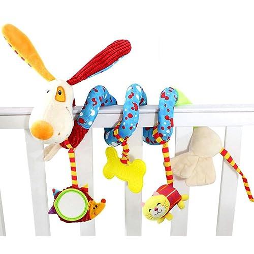Mamamiya Papas Baby Toys Spiral Activity Stroller Car Seat Cot Babyplay Travel S