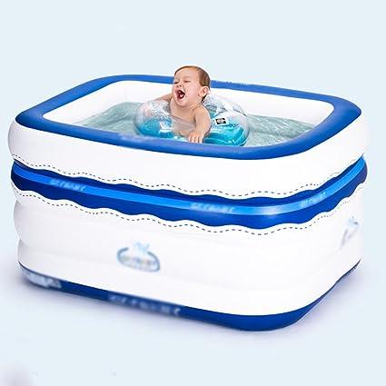 Amazon.com: Bathtubs Freestanding Inflatable Square Children ...
