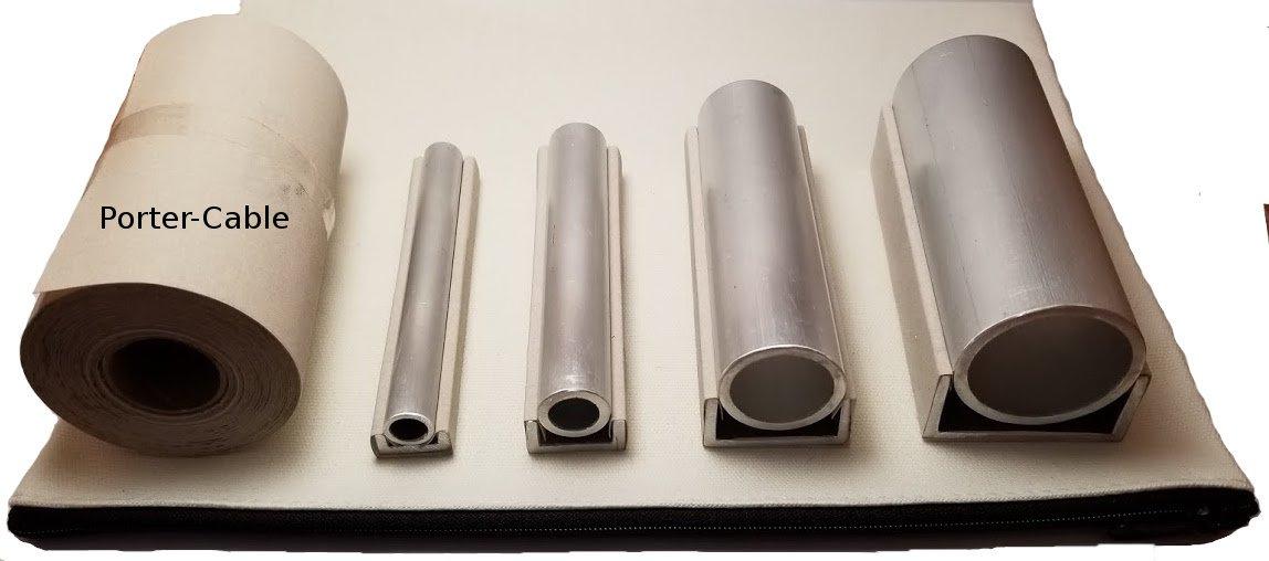 Grit-Lock ASB-4.5XS,S,M,L Sanding Block Kit with 320 Grit Porter-Cable Sandpaper Roll