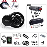 BAFANG BBS02B 48V 750W Ebike Motor with LCD Display Electric Bike Conversion Kit with Battery (Optional)