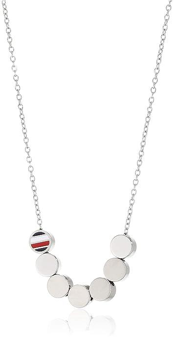 Tommy Hilfiger Jewelry Collar cadena Mujer acero inoxidable ...