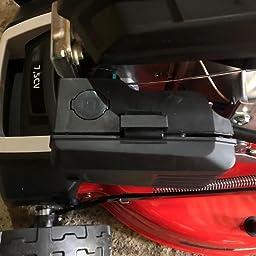 Greencut GLM880XE Cortacesped Autopropulsado, Rojo,224cc 7.5cv 530mm, arranque eléctrico: Amazon.es: Bricolaje y herramientas