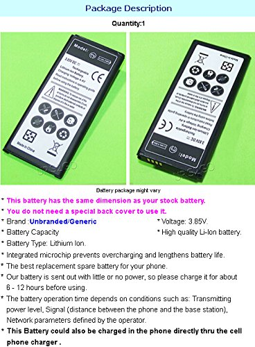 New High Capacity 4300mAh Spare Replacement Battery for AT&T Samsung Galaxy Note Edge SM-N915A Smartphone W/ Screen Touch Pen Accessory