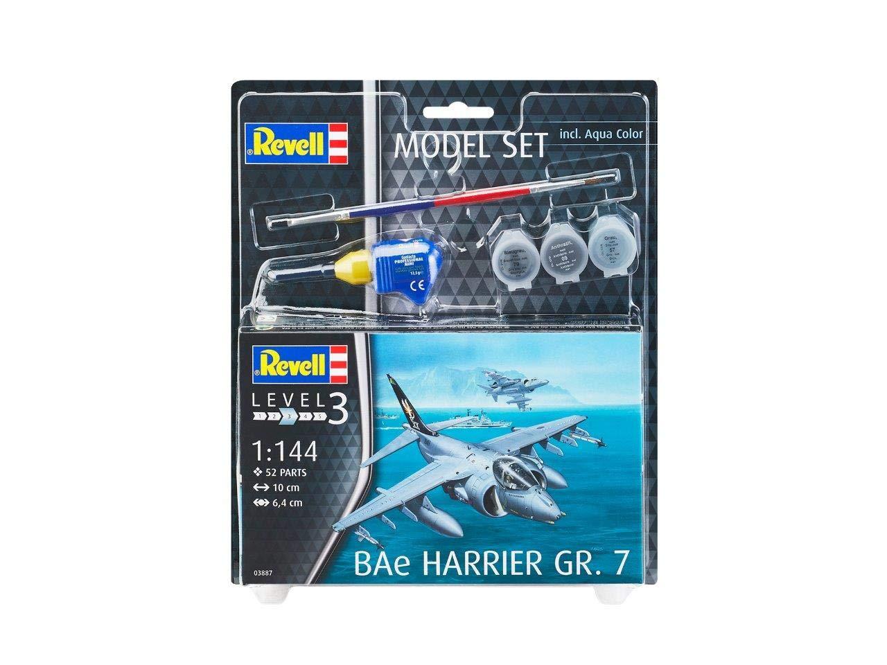 Escala 1:144 Maqueta Modelo Set F//A-18E Super Hornet Revell 63997