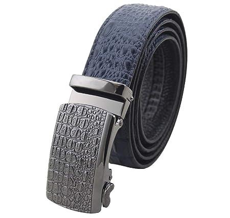 Mysterious Direct Cinturones Hombre Cuero Cinturón Vintage/Casual ...