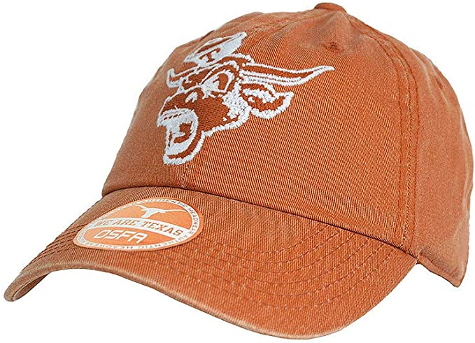 Elite Fan Shop Texas Longhorns Hat Orange Snap Back