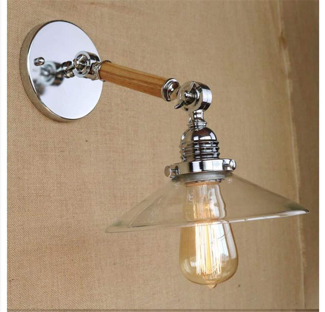 Wandleuchten Wandlampeaußenlampe Wandbeleuchtung Basis Retro Loft Industrielle Led Vintage Wandleuchte Licht Wandleuchte Einstellbar Griff Holz Rustikale Leuchten E27