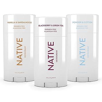 Native Deodorant - Natural Deodorant - Vegan, Gluten Free, Cruelty Free -  Free of Aluminum, Parabens &