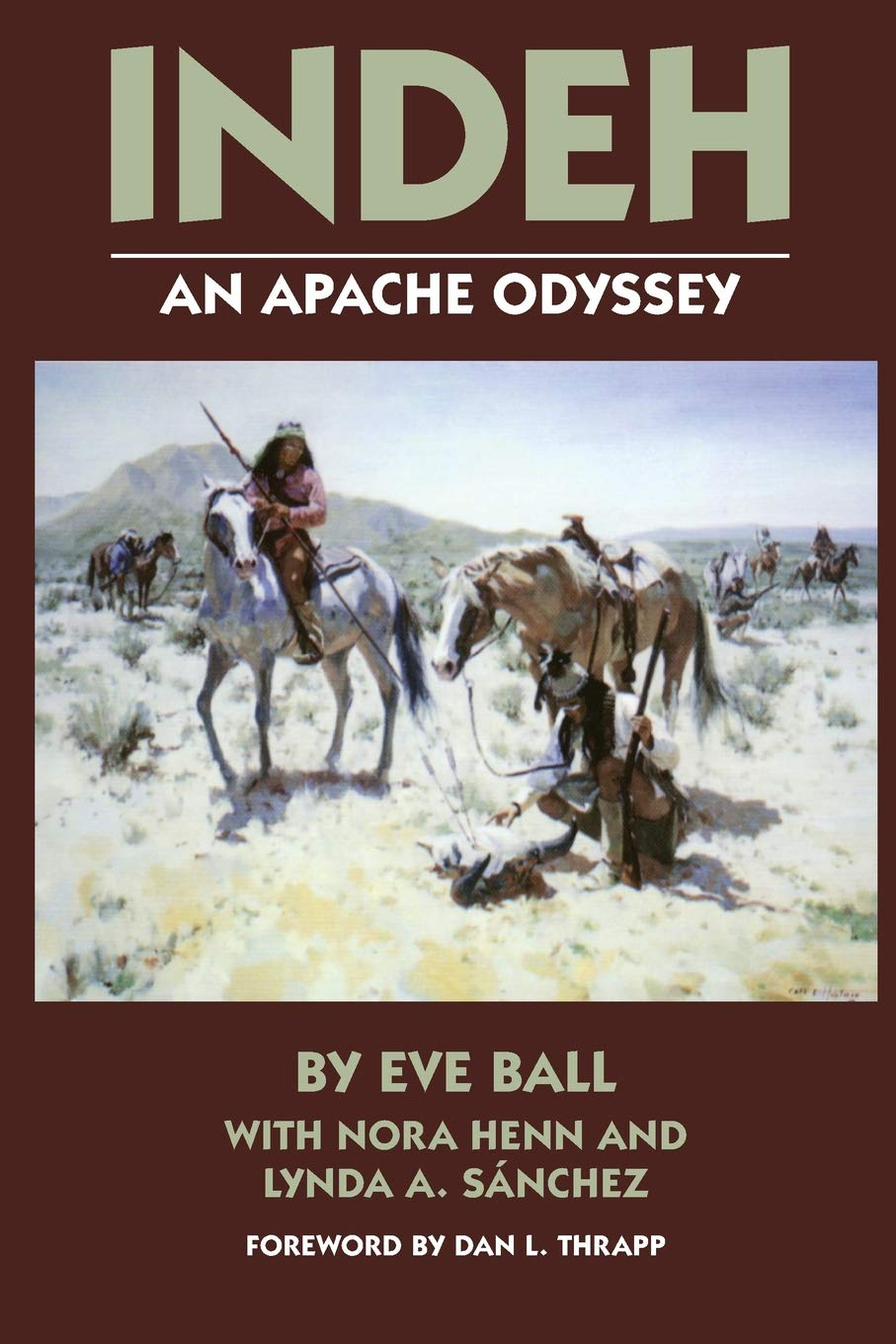 Read Online Indeh: An Apache Odyssey, with New Maps pdf epub
