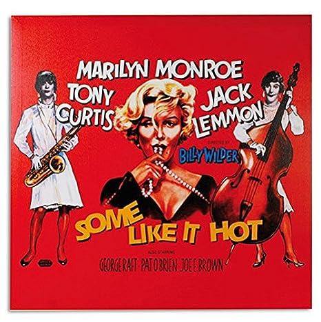 Cartel de Cine Marilyn Monroe Some Like It Hot: Amazon.es ...