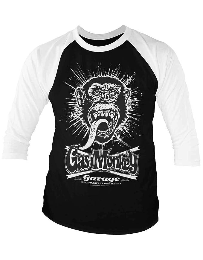 Gas Monkey Garage Official Explosion Baseball - Camiseta de Manga ...