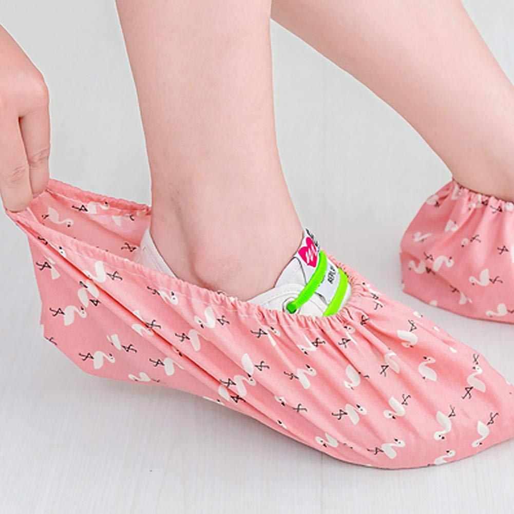 Enjoyyourselves Genie/ßen Sie selbst waschbare /Überschuhe Extra Dicke Stiefel und /Überschuhe mit rutschfesten Trittfl/ächen f/ür die staubdichte Innenabdeckung f/ür Innen