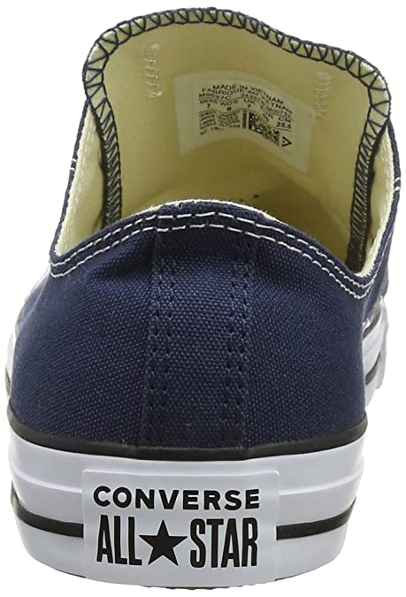 Amazon.com | Mens Converse All Star Ox Low Top Chuck Taylor Chucks Lace Up Trainer-Navy | Fashion Sneakers
