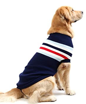 SHUNLIU Ropa para Perro Jersey de Mascota de Navidad Mascota Suéter de Punto Invierno: Amazon.es: Productos para mascotas