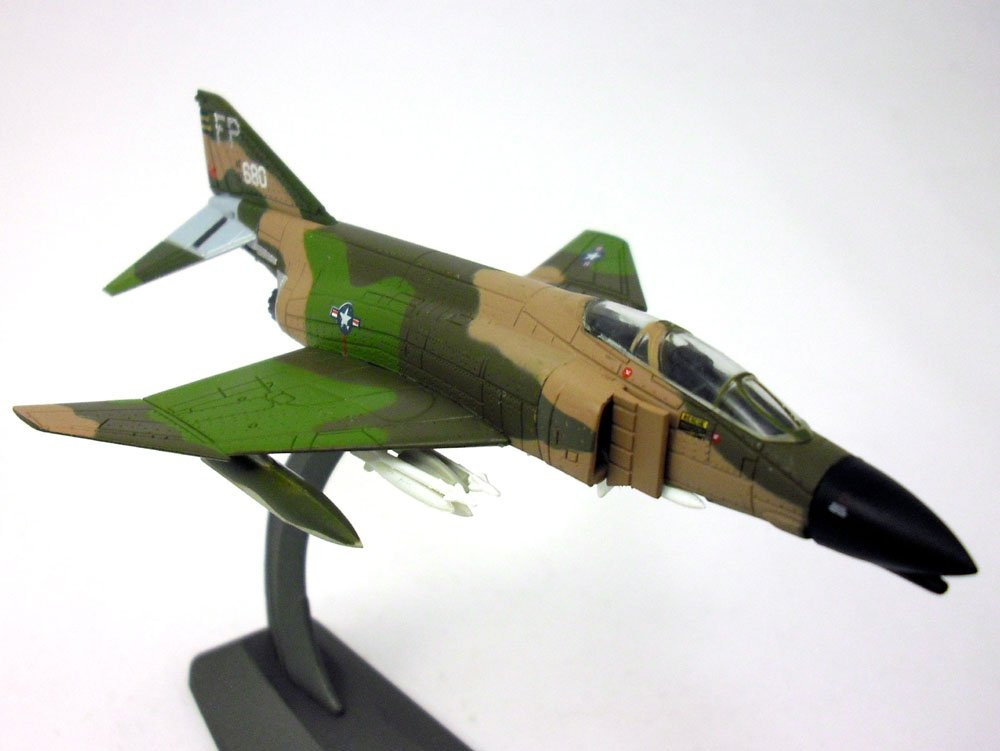 McDonnell Douglas F-4 Phantom II - USAF 1/144 Scale Diecast Model by Caseometry (Image #1)