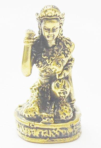OLD RARE HINDU ELEPHANT GOD LORD GANESHA WEALTH SUCCESS RICH THAI BUDDHA AMULET