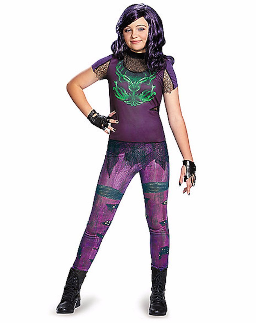 Disney Descendants Exclusive Mal Girls Costume