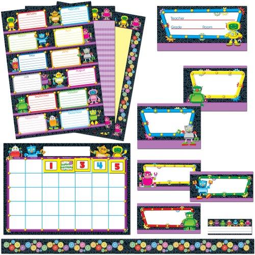 Carson Dellosa Robots Classroom Collection Bulletin Board Set (110165)