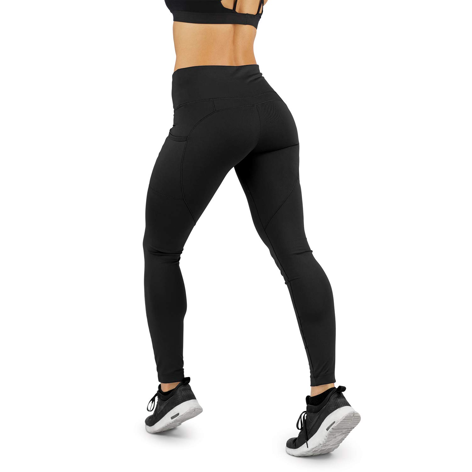 1a68f936a0 Amazon.com: Contour Athletics Workout Leggings for Women with Pockets,  Premium HydraFit Technology: Clothing