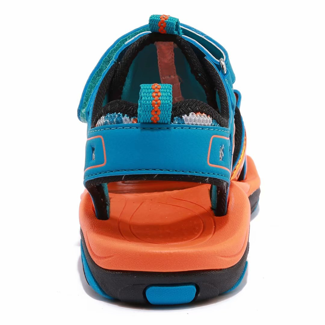 Toddler//Little Kid//Big Kid BODATU Boys and Girls Summer Outdoor Beach Sports Closed-Toe Sandals