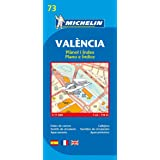 Map 73 Valencia (Michelin City Plans)