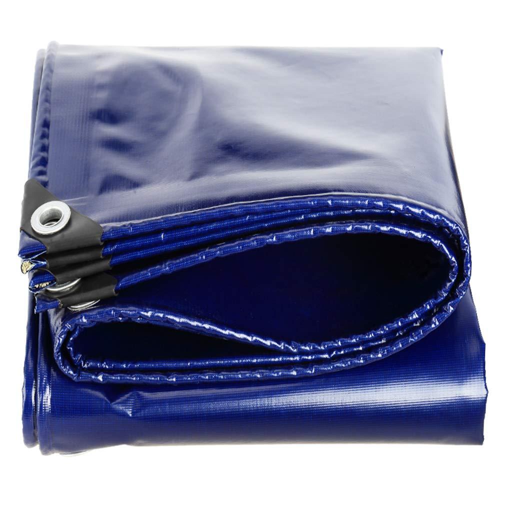 HUYYC タープヘビーデューティ防水 - タール厚い防風タプロプールカバーブルー,3x3m B07KYMYTZ4  3x3m