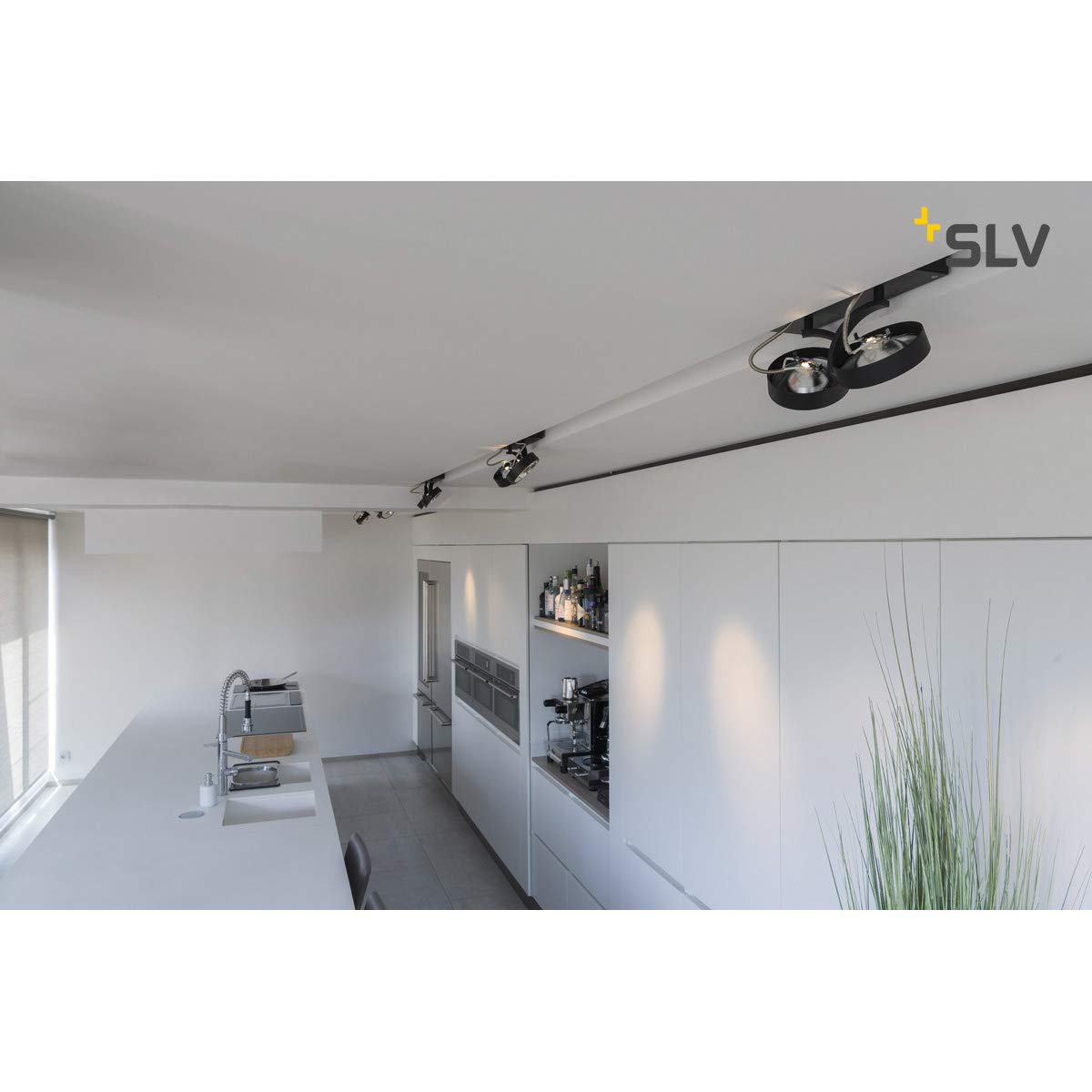 G53 230volts 2 Strahler blanc mat Luminaire mural et plafonnier SLV Aluminium