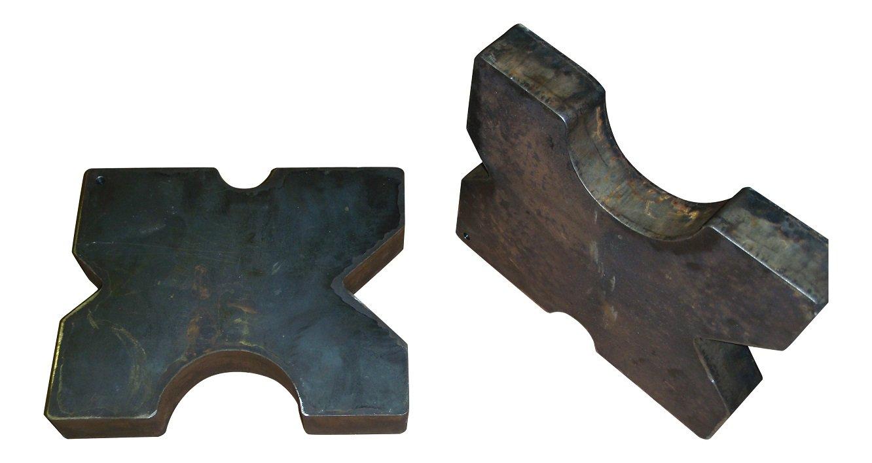 SWAG Arbor Press Plates (Pair) (7'' X 7'')