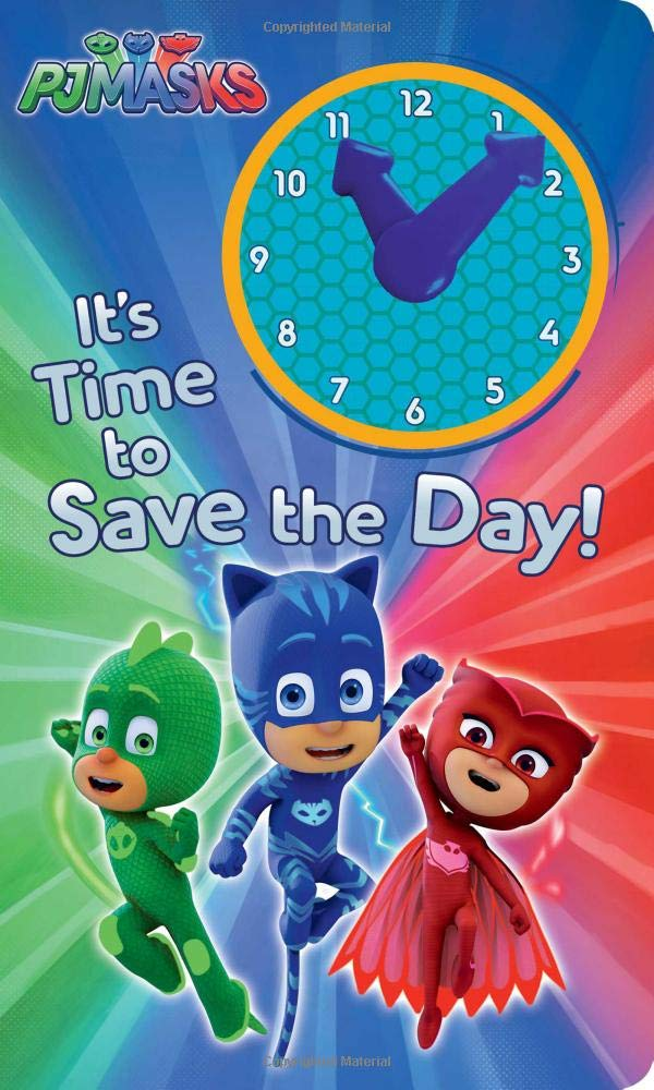 Amazon.com: Its Time to Save the Day! (PJ Masks) (9781534404236): Natalie Shaw: Books