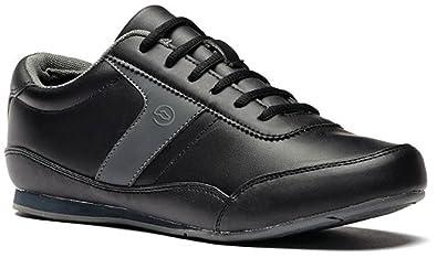Toffeln - Zapatillas para hombre, color negro, talla 6 UK