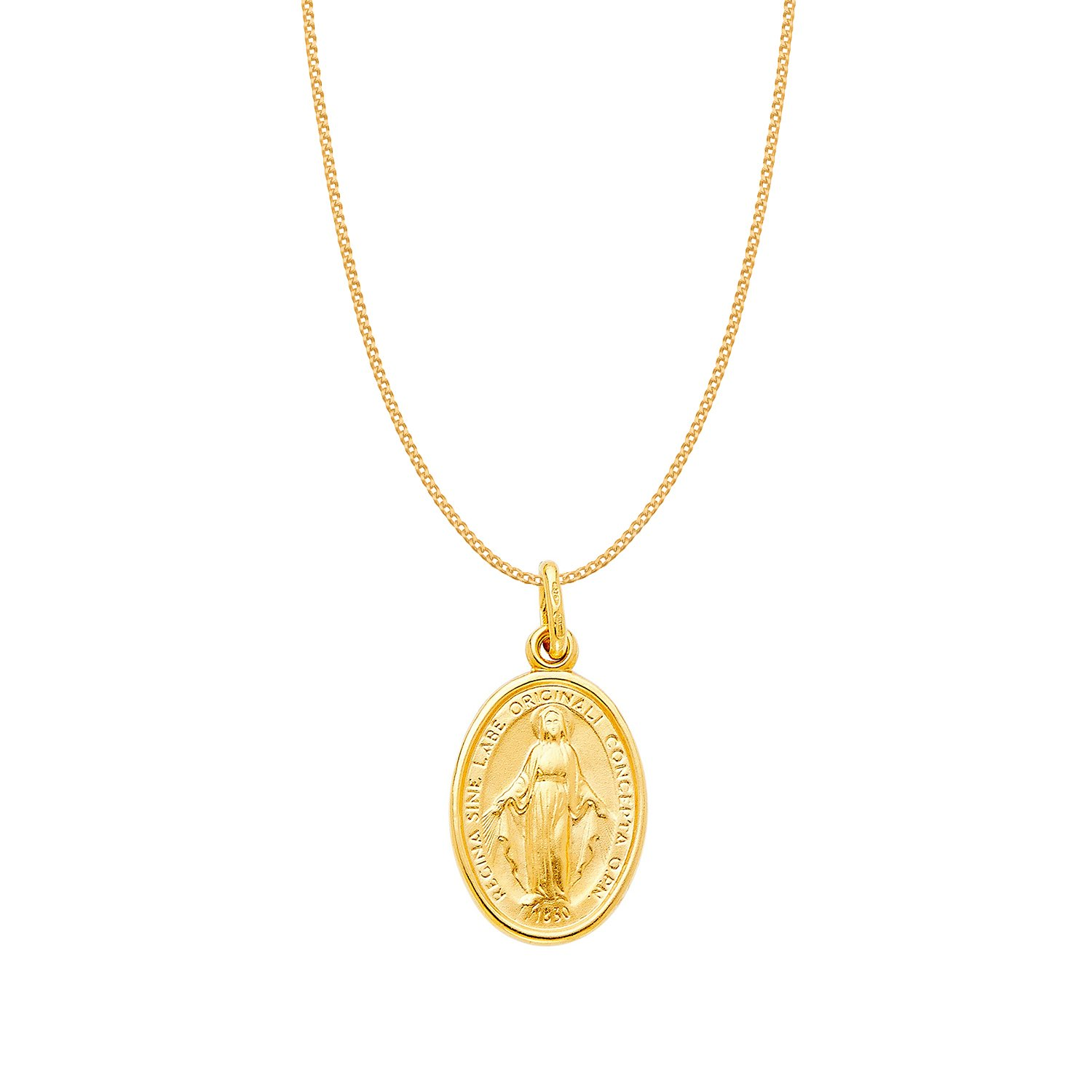 Ashley Jewels 14K Yellow Gold Plated Fn Simulated Diamond Studded Religious Lord Ganesha Pendant Necklace With Chain