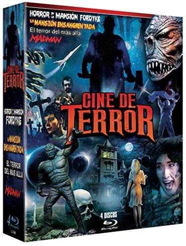 Pack Mad Man + El Terror del Mas Alla It! The Terror from Beyond Space + La Mansión Ensangrentada The Dorm That Dripped Blood + Horror en la Mansión Fordikie The Black