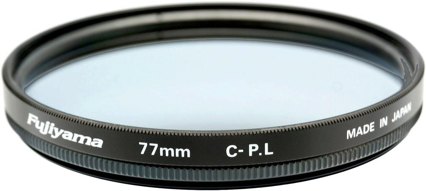 Fujiyama 77mm Circular Polarizing Filter for Canon TS-E 90mm F2.8L Macro Made in Japan