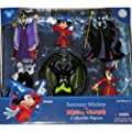 Disney Sorcerer Mickey Mouse vs. Villains Figurine Figure Set