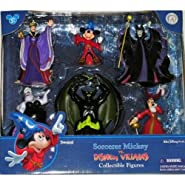 Disney Sorcerer Mickey Mouse vs. Villains Figurine Figure Set