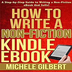 How to Write a Non-Fiction Kindle eBook Audiobook