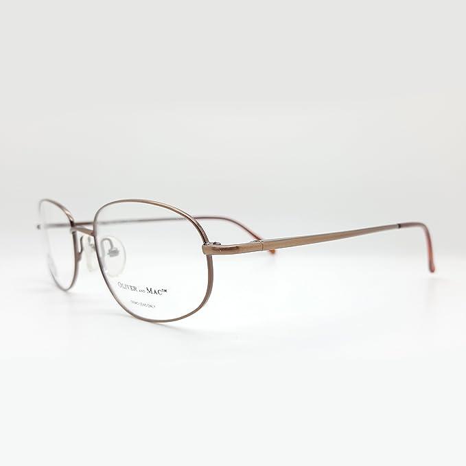 9d185af2065f Amazon.com  Oliver And Mac Men s London Eyeglasses Prescription Frames ( Brown