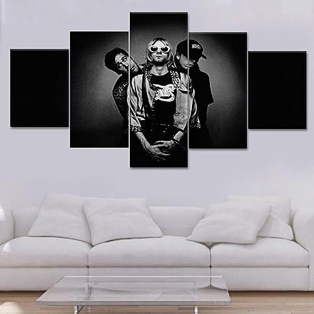 mmwin 5 Piezas HD Print Custom Made s Canvas Wall Art para ...