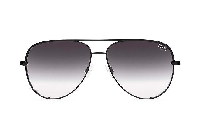 Amazon.com: Quay gafas de sol para mujer, negro, talla única ...