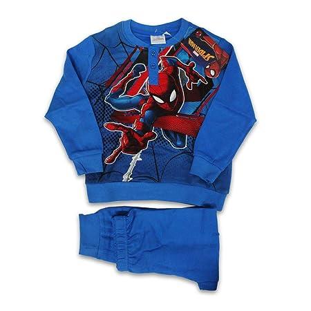 Russo Tessuti - Pijama Largo para bebé, diseño de Spiderman ...